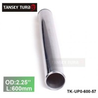 "Tansky 2pcs/unit 57mm 2.25"" Straight Length 600 mm Aluminum Turbo Intercooler Pipe Straight Piping Tube Tubing TK-UP0-600-57"