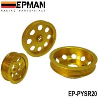 EPMAN LIGHT-WEIGHT CRANK PULLEY For Nissan SILVIA S14 S15 SR20 PULLEY EP-PYSR20