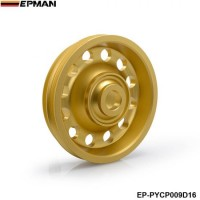 EPMAN - Light Weight Aluminum Crank Shaft Belt Drive Pulley for Honda Civic 92-95 EP-PYCP009D16