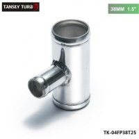 "TANSKY - Universal BOV T-pipe 38mm 1.5"" outlet 25mm Blow Off Valve T Joint Adaptor TK-04FP38T25"