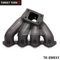 Tansky - TOP MOUNT T3 TURBO CHARGER EXHAUST MANIFOLD FOR B-SERIES 88-00 CIVIC 94-01 INTEGRA TK-EM033