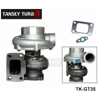 GT35 GT3582R Compressor:A/R 0.70 Turbine:A/R 0.82 T3 Flange wet float bearing 4 bolt 400-600hp turbocharger turbo charger TK-GT35