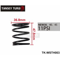 Tansky - 38MM 40MM 45MM TURBO EXTERNAL WASTEGATE WG SPRING COATED REPLACEMENT 11 PSI /0.78BAR JUST FOR TURBO SMART TK-WSTH003