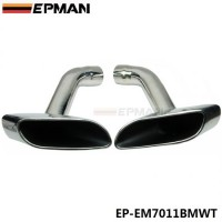 EPMAN Chrome 304 Stainless Steel Exhaust Muffler Tip For BMW X6 E71 EP-EM7011BMWT
