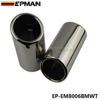 EPMAN Chrome 304 Stainless Steel Exhaust Muffler Tip For BMW 325i E90/F35/F30 EP-EM8006BMWT