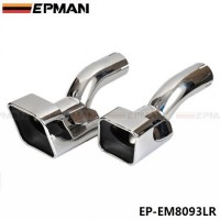 EPMAN Chrome Stainless Steel Exhaust Muffler Tip For Land Rover 12-13 Range Rover diesel sports EP-EM8093LR
