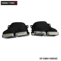 TANSKY - Exhaust Muffler Tips Pipe For Mercedes-Benz W205 C Class C250 C300 C350 C63 EP-EM8110BENZ