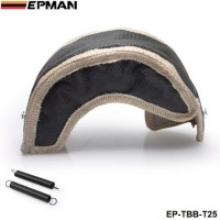 Exhaust Turbo Blanket Wrap Heat Shield Beanie For Turbocharge T25 T28 gt28 gt30 gt35 t37 t3 EP-TBB-T25 (Black)