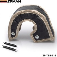 T3 turbo blanket Glass fiber (Default Color Black) fit:t2,t25,t28,t28,gt30,t35,and most t3 turbine housing turbo charger EP-TBB-T3B
