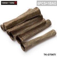 Tansky - Titanium Vulcan Lava Protector Sleeve Spark Plug Wire Boots 6cyl TK-GT06TI