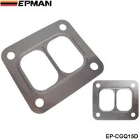 EPMAN -10PCS/LOT T4 Turbo Turbine inlet divided gasket Stainless Steel304 Gasket For T04 turbo HQ turbo inlet gasket EP-CGQ15D