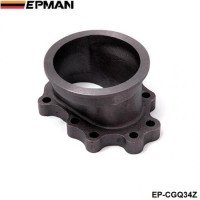"EPMAN- T25 T28 GT25 GT28 8 BOLT to 3"" v band Exhaust Manifold Converter Adaptor Flange EP-CGQ34Z"