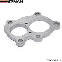 EPMAN - Turbo flange T25 T210 GT30 GT32 dual exhaust turbine outlet stainless steel mani EP-CGQ51H