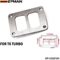 "EPMAN -T6 Turbo Stainless Steel Flange Divided Twin Scroll 1/2"" Thick EP-CGQ72H"