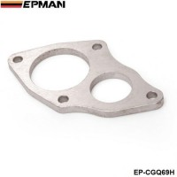 EPMAN- Turbine Inlet Outlet Downpipe Flange For Mitsubishi EVO 1 2 3 DSM VR4 EP-CGQ69H