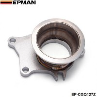 "EPMAN T04E T3/T4 T3 .63A/R 5 bolt to 3"" vband Stainless Steel Turbo Manifold Flange Adapter EP-CGQ127Z"