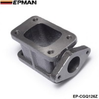 EPMAN - T3-T3 Cast Iron 304 Turbocharge Manifold Adaptor+38MM Wastegate Flange Outlet EP-CGQ126Z