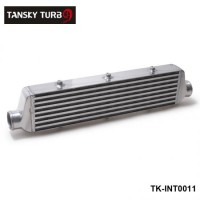TANSKY - 550x140x65mm UNIVERSAL FRONT MOUNT TURBO INTERCOOLER For Honda Civic Nissan Toyota TK-INT0011