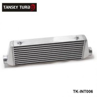 TANSKY - 500x180x65mm UNIVERSAL FRONT MOUNT TURBO INTERCOOLER For Honda Civic Nissan Toyota TK-INT006