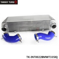 TANSKY - TWIN TURBO INTERCOOLER KIT for BMW 135 135i 335 335i E90 E92 2006-2010 N54 BLUE TK-INT0022BMWT335IQ