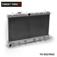 TANSKY -50mm 2 Row Aluminum Radiator For Subaru Impreza Wrx STI GDB GD8 MT 02-07 03 04 05 06 TK-R221RAD
