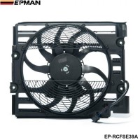 EPMAN - For BMW 5 Series E39 528 540 I 97 98 A/C Ac Radiator Condenser Cooling Fan 64548380780 EP-RCFSE39A