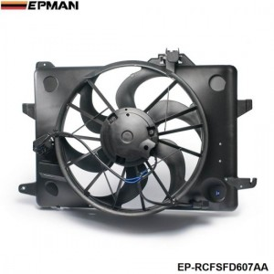 EPMAN -AC Condenser Radiator Cooling Fan 1998-2000 For Lincoln Ford Mercury F8VZ8C607AA EP-RCFSFD607AA