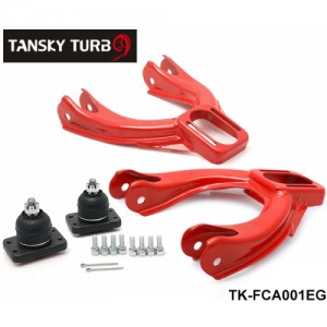 Tansky--Adjustable Front Upper Control Arm Camber Kit For Honda Acura JDM Powdered Style Red TK-FCA001EG