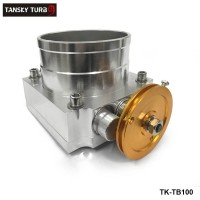 UNIVERSAL 100mm THROTTLE BODY Silver TK-TB100