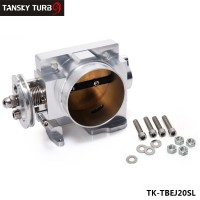 TANSKY - FOR Subaru WRX STI EJ20 EJ25 GDA GDB 70mm Aluminum Turbo Throttle Body TK-TBEJ20SL