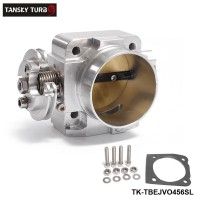 TANSKY - Aluminum Intake Manifold 70mm Throttle Body Performance Billet For Mitsubishi Lancer  Evo 4 5 6 4g63 TK-TBEJVO456SL