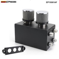 EPMAN - Racing Oil Catch Can Breather Tank For Honda Civic Integra EK EG DC EPYX001AF