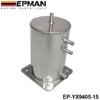 EPMAN Fuel Swirl Pot Alloy 1.5 LT Fuel Surge Tank For Motorsport Race Drift Rally Drag Car EP-YX9405-15