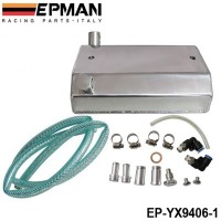 EPMAN Alloy Aluminium 1L Oil Weilding Catch Can Square Tank Polished EP-YX9406-1