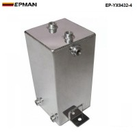 EPMAN 4.1 LITRE ALLOY FUEL SWIRL SURGE TANK An6 -6 Polished EP-YX9432-4