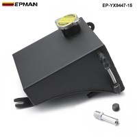 EPMAN Aluminum Radiator Coolant Overflow Tank Can&CAP For Nissan 240SX S13 Silvia  EP-YX9447-15