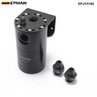 EPMAN Aluminium Racing Oil Catch Tank/Can Round Can Reservoir Turbo Oil Catch can / Can Catch universal EPJYH192