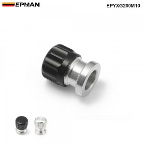 """EPMAN 1"""" 25mm OD /14mm ID Alloy Bung And Cap Weld On Filler Neck With Cap Fuel Oil Tank/Oil,Fuel,Water Tank Cap EPYXG200M10"""