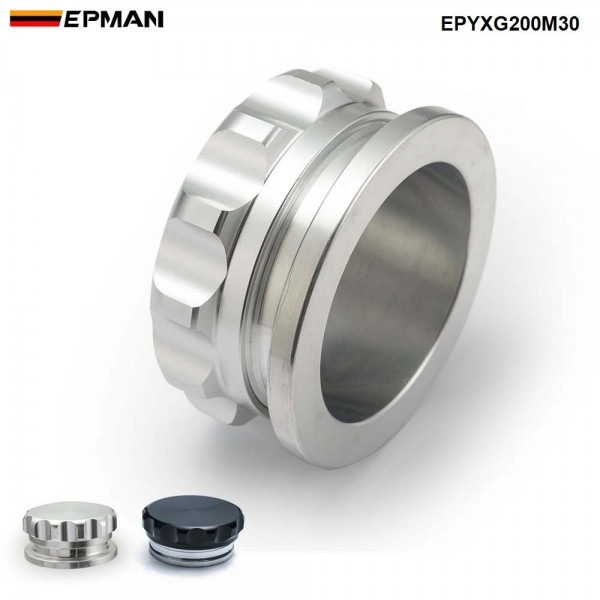 """EPMAN 3.0"""" 79mm OD / 57.7mm ID  Alloy Bung And Cap Weld On Filler Neck With Cap Fuel Oil Tank/Oil,Fuel,Water Tank Cap EPYXG200M30"""