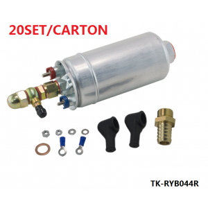 20SET/CARTON  External Fuel Pump 0580 254 044 FUEL PUMP WITH BANJO FITTING KIT HOSE ADAPTOR UNION 8MM OUTLET TAIL TK-RYB044R