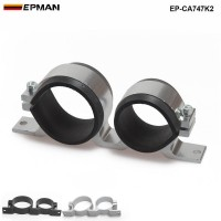 EPMAN 044 Fuel Pump & Filter Dual Mounting Bracket Anodized Aluminum EP-CA747K2