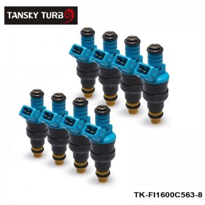 TANSKY - 8PCS/LOT 0280150563 New Fuel Injector 1600cc 152lb/hr For Audi Chevy Ford TK-FI1600C563-8
