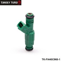 "TANSKY -  High flow 0 280 155 968 fuel injector 440cc ""Green Giant ""For Volov fuel injector 0280155968 TK-FI440C968-1"