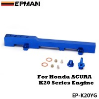 EPMAN Racing Fuel Rail Kit For Honda Acura RSX Integra DC5 Type r K20 Blue EP-K20YG