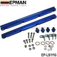 EPMAN ALUMINIUM FUEL RAIL KITS INTAKE RAIL FOR GM LS1 COMPLETELY KITS EP-LS1YG