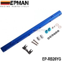 EPMAN Fuel Rail Kits for Nissan Skyline BNR32/R33/34 GTR/R34 88-ON RB26 TK-RB26YG / EP-RB26YG
