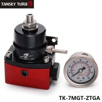 TANSKY - Universal - 6 An Efi Fuel Injection Pressure Regulator Black-Red TK-7MGT-ZTGA