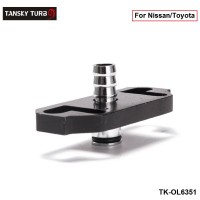 Tansky - 1PC Fuel Regulator Adaptor for Nissan/Toyota TK-OL6351 (1PC)