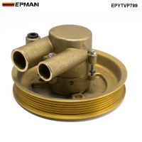 EPMAN Crank Mounted Raw Water Sea Pump For Volvo Penta 21212799, 3812519 Pulley GXI GL EPYTVP799