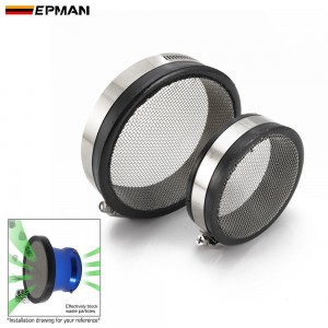 EPMAN Air Screen Insert Air Inlet Protection Cover For Motorcycle Air Intake Filter 76mm/102mm Carb EPINT76 EPINT102